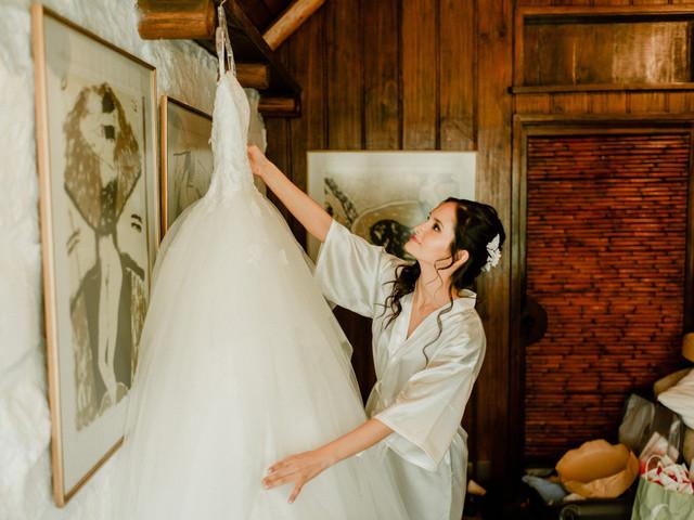 ¿Qué hacer después de recibir tu vestido de novia?