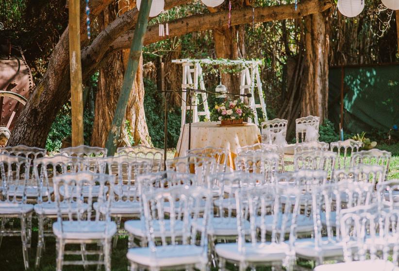 Casona El Bosque - Ceremonia exterior
