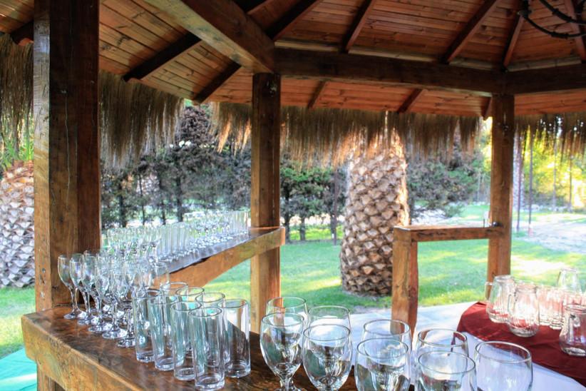 Las Secoyas - Exterior zona bebidas