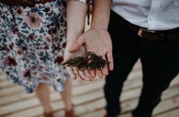 9 ideas para celebrar su 'no matrimonio' desde su casa