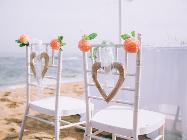 Decoración para matrimonios playeros