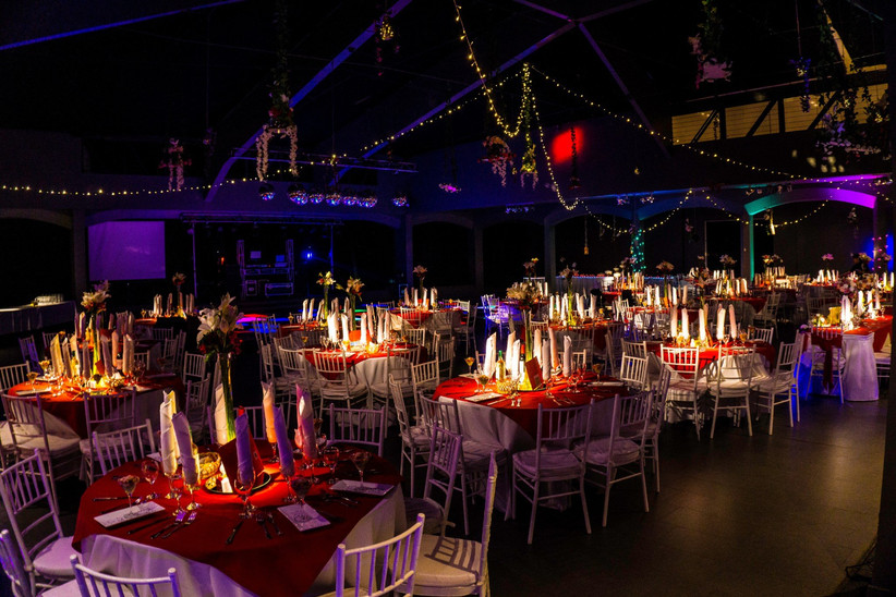 Events & Services Chile - Ambientación en Sala para matrimonios
