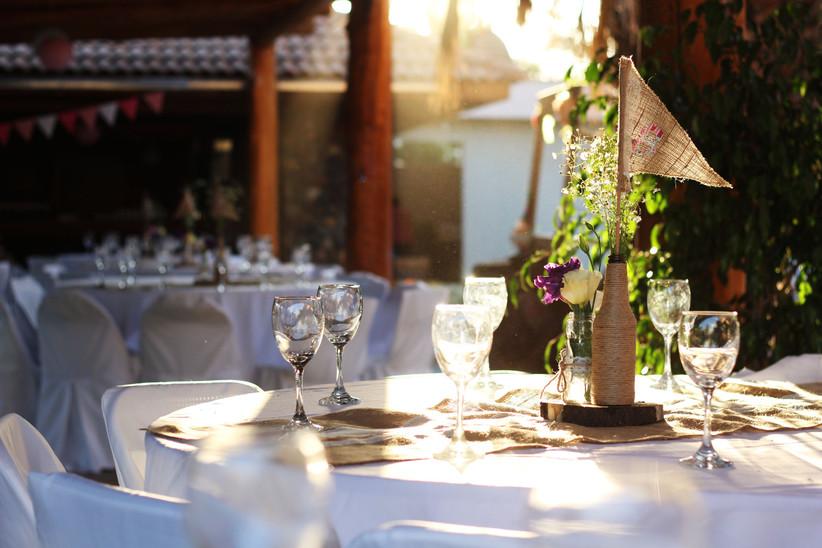 Events & Services Chile - ambientación exterior evento