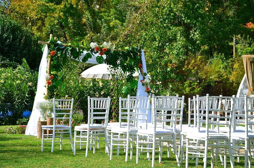 Slier Catamapu - Exterior Ceremonia matrimonial
