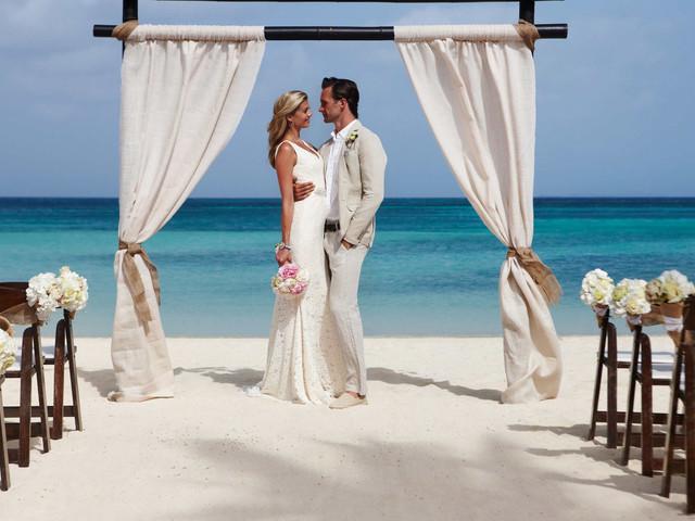Detalles para los invitados a un matrimonio en la playa