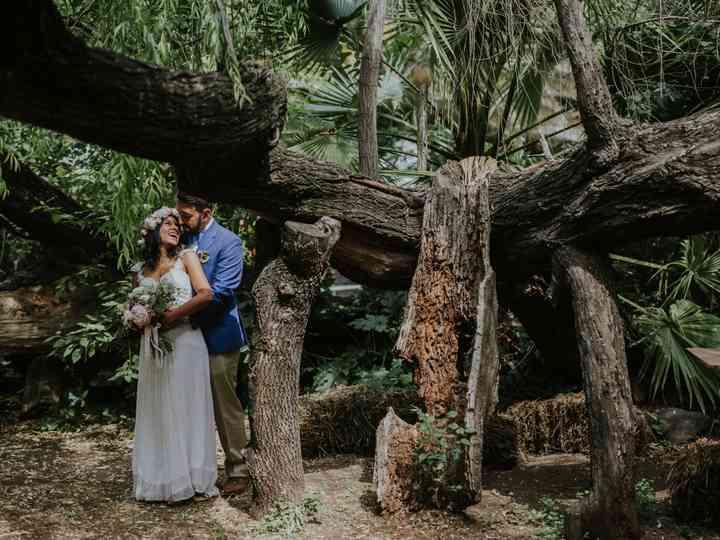 Vivan el encanto de casarse en un bosque