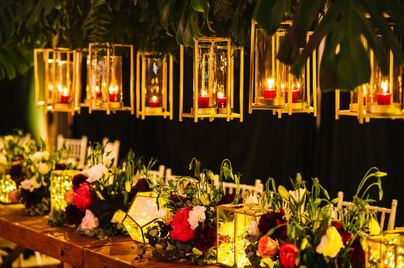 Hacienda Santa Martina -  Detalles florales y de ornamentación especiales