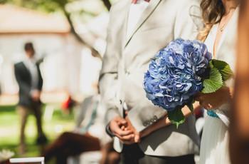 5 ideas para que no falte el azul en tu look de novia