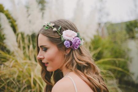 7 estilos de peinados de novia según el tipo de matrimonio