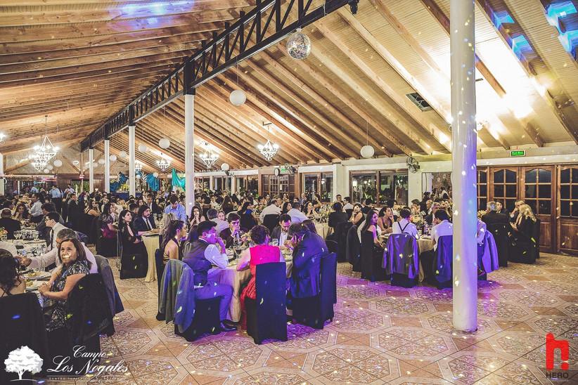 Campo Los Nogales - Interior Salón