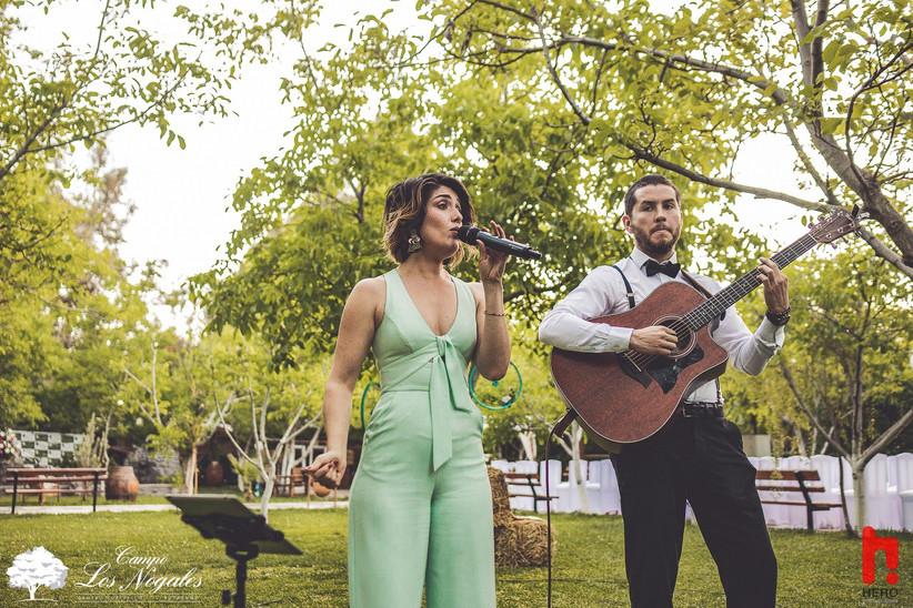 Campo Los Nogales - actuación musical en exterior