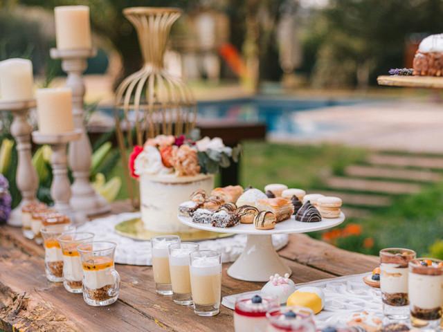 50 postres como alternativas a la torta de novios: porque añadir un mesón dulce se convierte en un exquisito deber