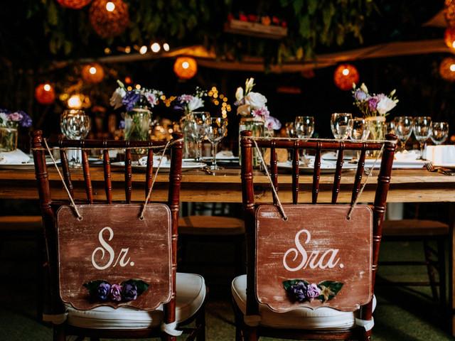 5 ideas para decorar las sillas del banquete de su matrimonio