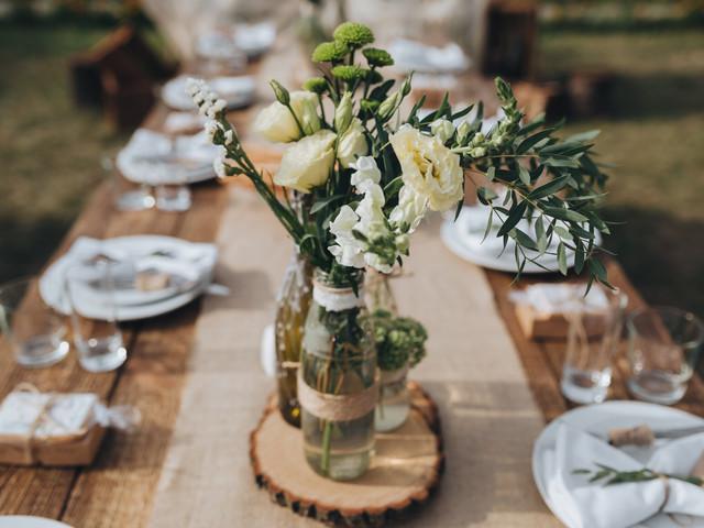 8 ideas para que su banquete se luzca con estos sencillos centros de mesa