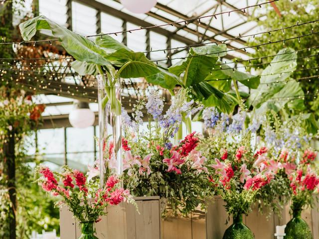 5 reglas de oro para la decoración floral de su matrimonio