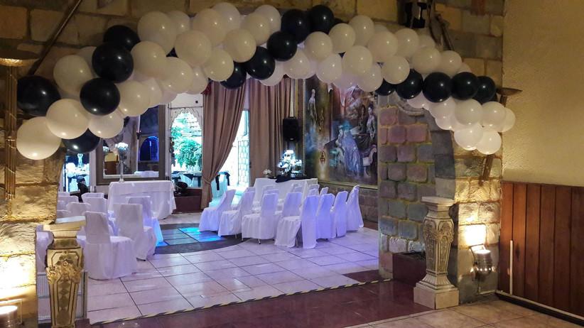 San Valentín Eventos - Interior zona para Ceremonia