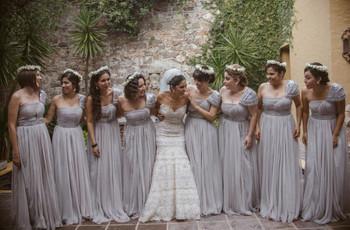 5 señales que te ayudarán a elegir a tus damas de honor