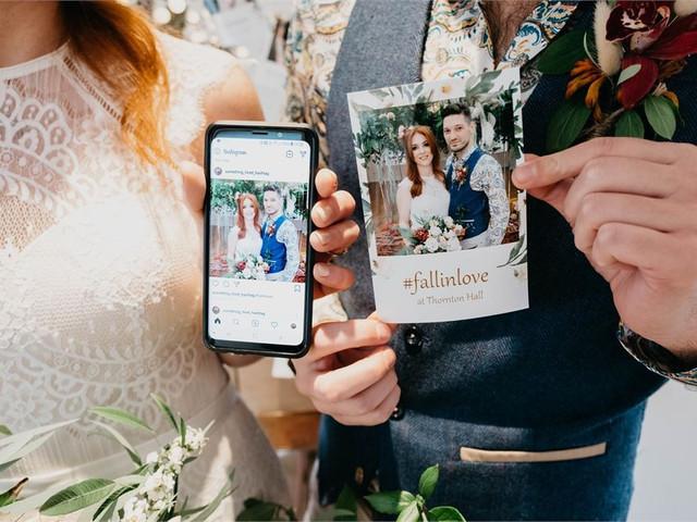 Consejos para compartir su matrimonio en redes sociales