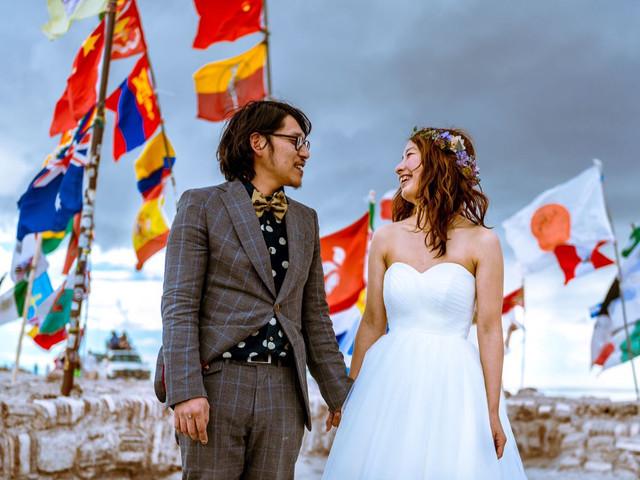 Matrimonio con temática viajera