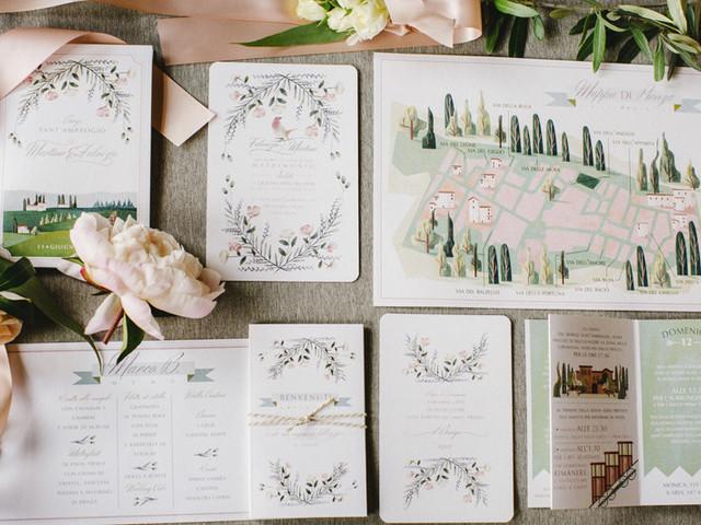 Conozcan los 10 must en papelería para matrimonio