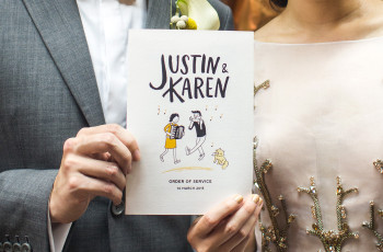 ¿Cómo incorporar el lettering a su matrimonio?
