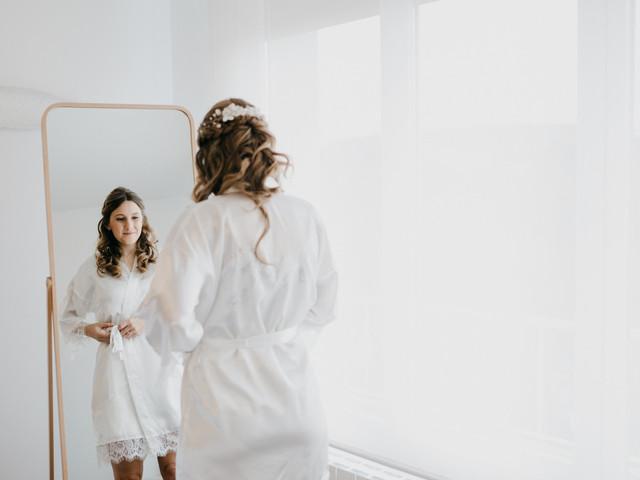 Todo lo que ocurre en la habitación de la novia antes de la ceremonia