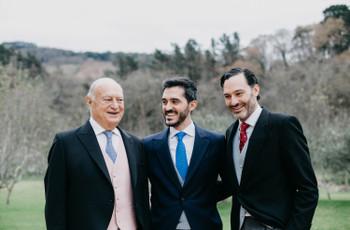 ¿Cómo se viste el padrino del matrimonio?
