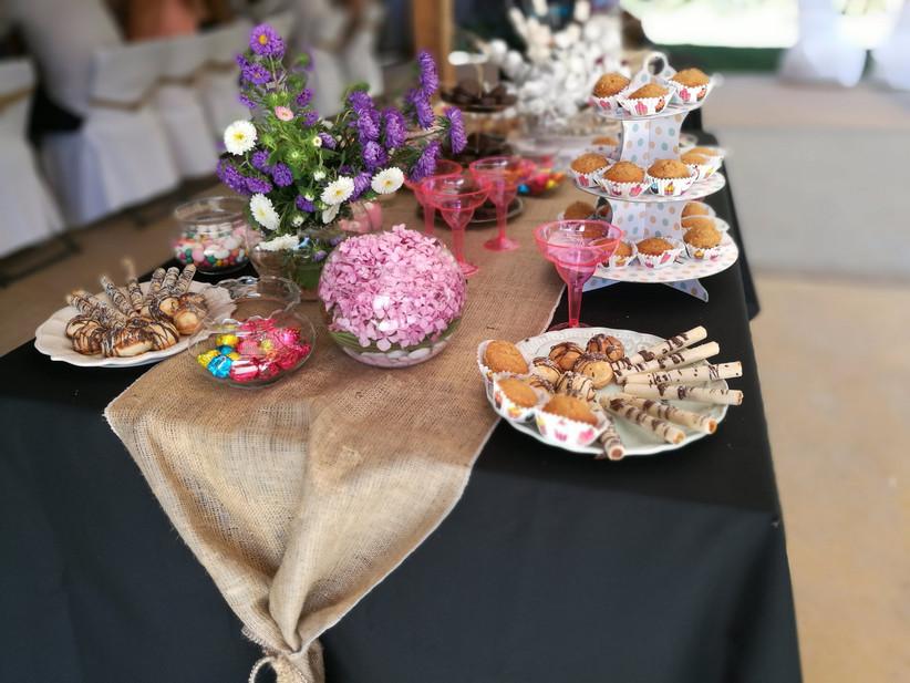 La Morada del Cajón - Detalle de mesa dulce