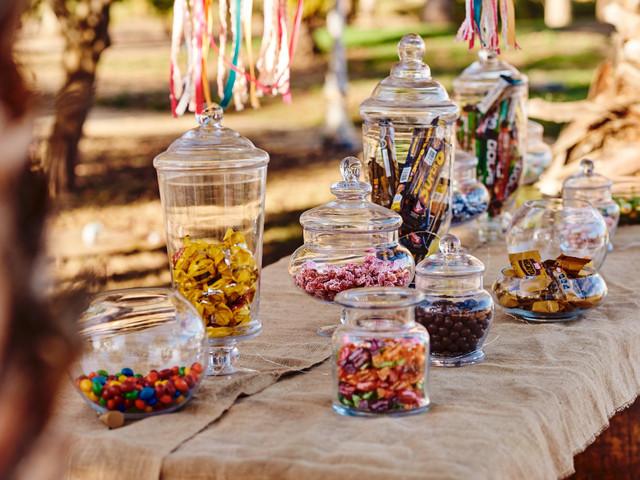 ¿Cómo incluir dulces en su matrimonio?