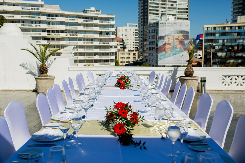 Enjoy Viña del Mar - Matrimonios al aire libre en terraza