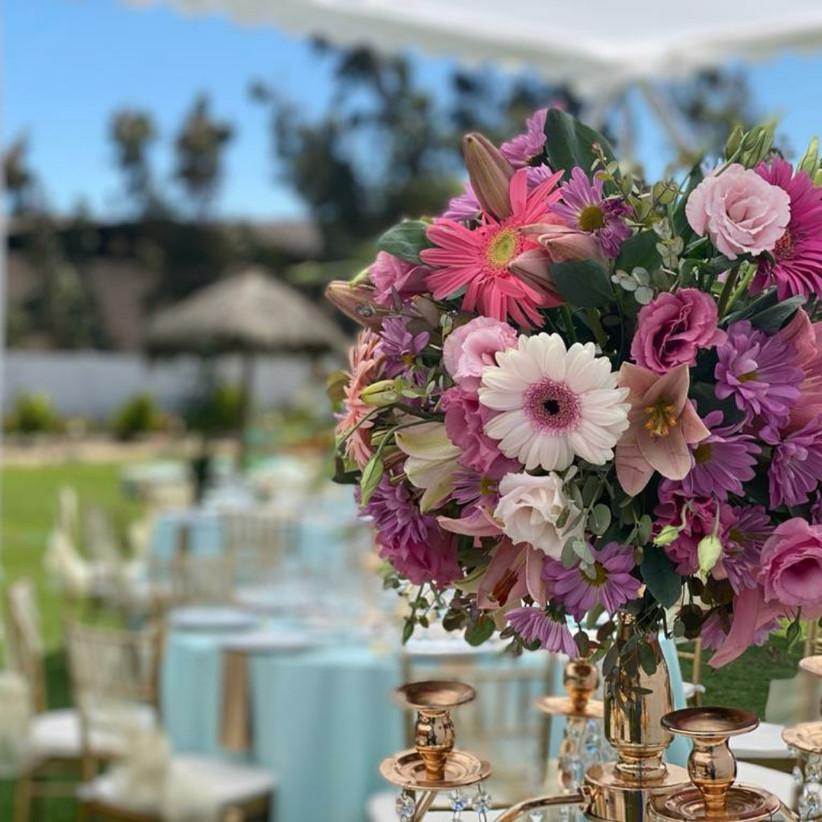 Gran Hacienda Paraíso - Decoración floral Jardin