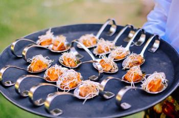 Menú gluten free para los invitados a su matrimonio
