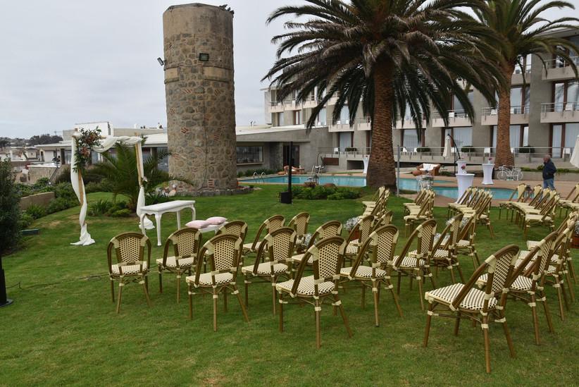 Panamericana Hotel Quintero - Ceremonia junto a Piscina