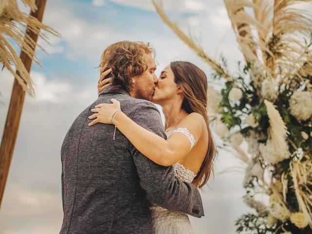 9 tipos de besos que se darán en su matrimonio