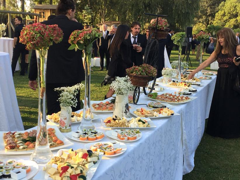 Aaras Eventos Banquetes - Mesa banquete