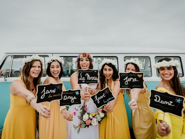 11 complementos para tus damas de honor: ¿Cómo las sorprenderás?