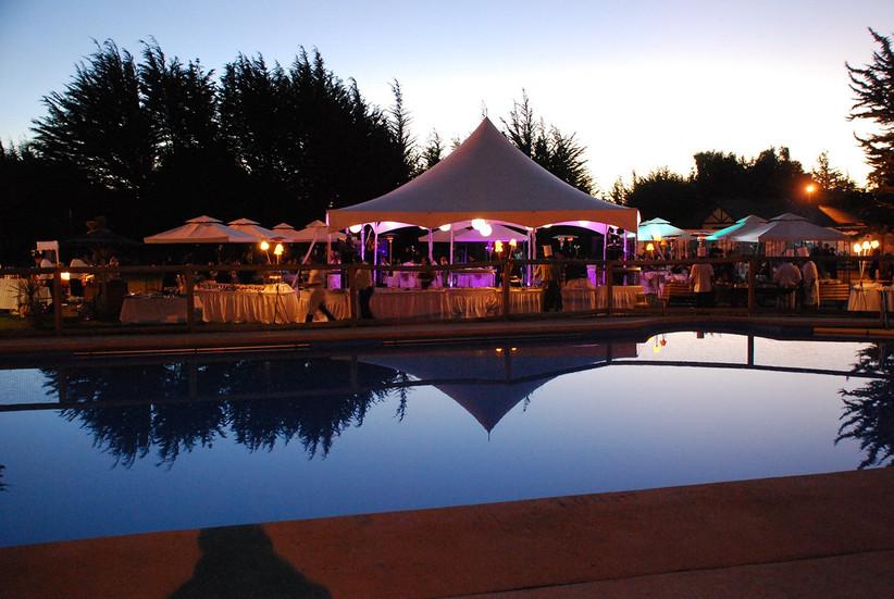 Mantagua Village - Carpas junto zona piscina exterior