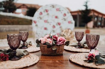 ¿Cómo organizar mesas de matrimonio (muy bonitas) en tiempos de pandemia?