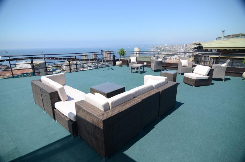 Hotel Boutique Cabernet - Zona chill terraza