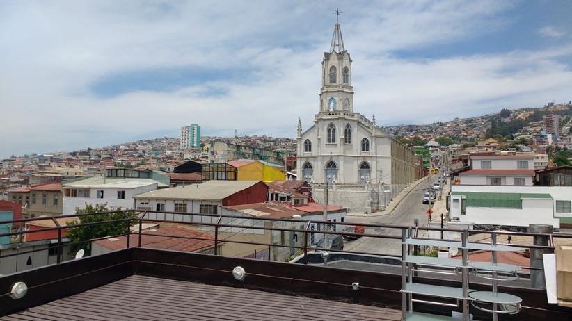 Hotel Boutique Cabernet - Vistas desde la terraza