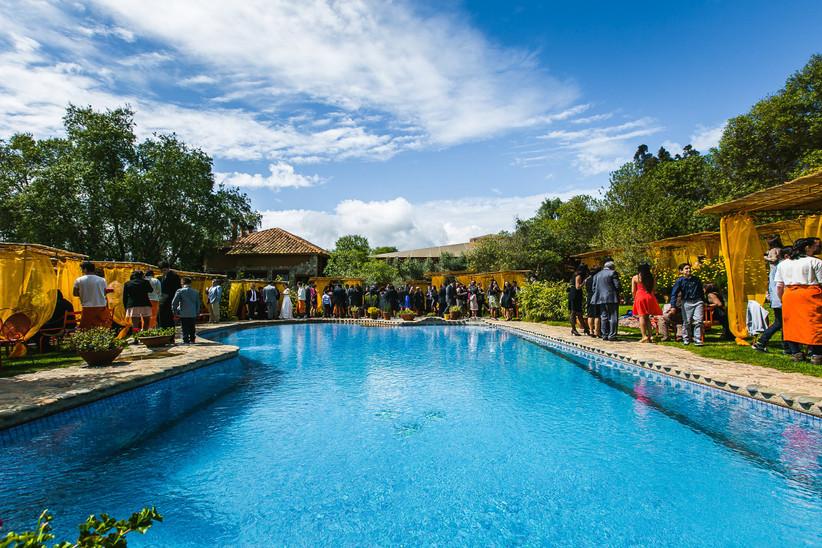 La Arbequina - Zona Jardin piscina