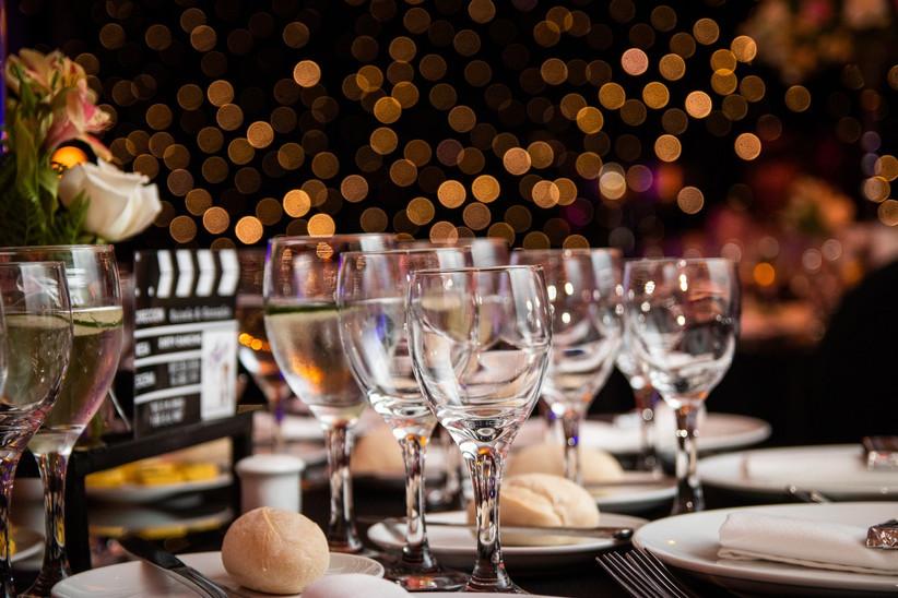 Hotel Bosque de Reñaca - Detalles mesas