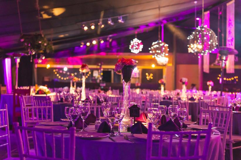 Casona Lonquén - Iluminación interior sobre sala