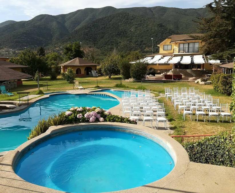 Doña Anita - Zona exterior piscinas