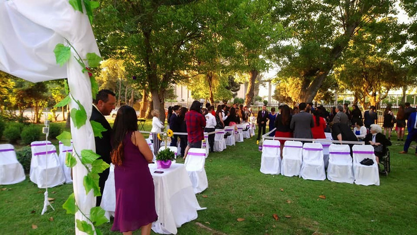 El Carmen - Ceremonia al aire libre