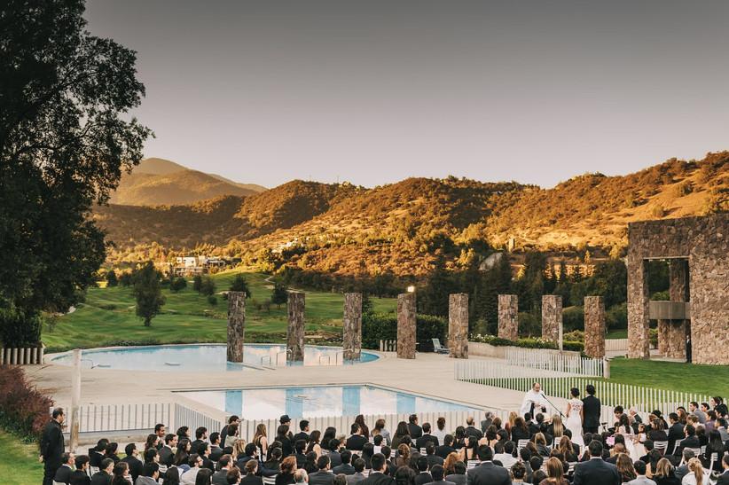 Club de Golf Valle Escondido - Majestuosa vista exterior