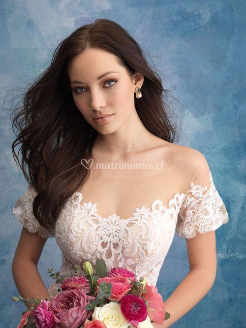 9569, Allure Bridals