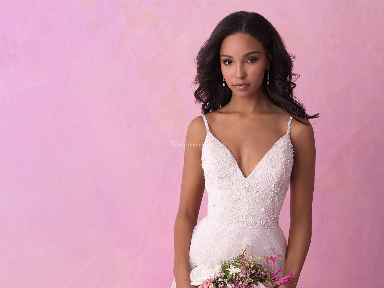 Vestido de Novia de Allure Bridals - 3168