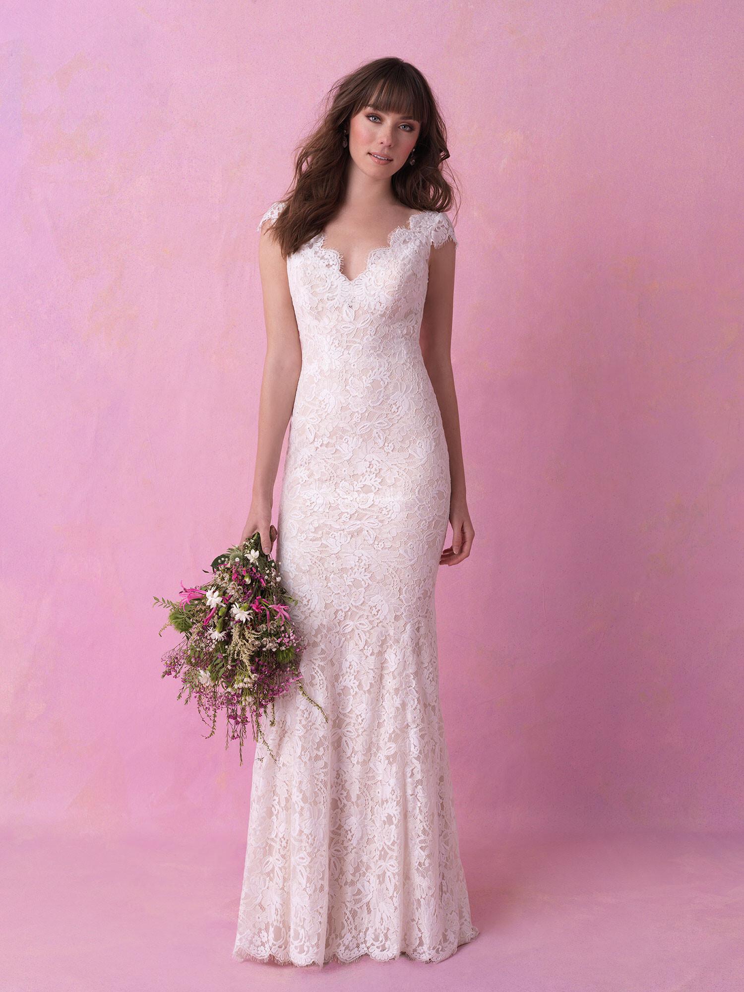 Vestido de Novia de Allure Bridals - 3165