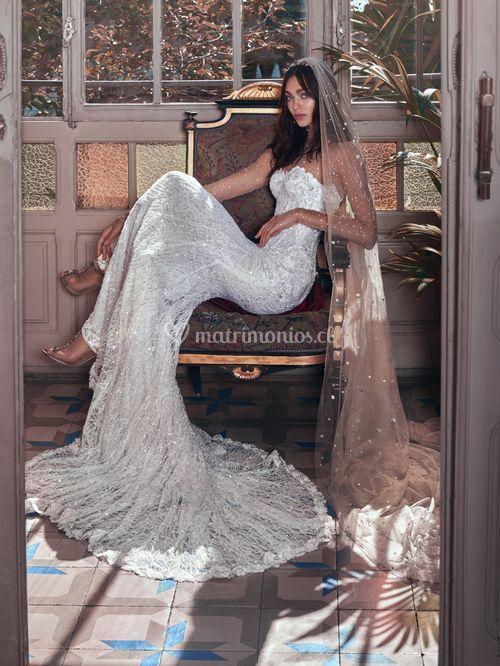 Inez and Stardust veil, Galia Lahav